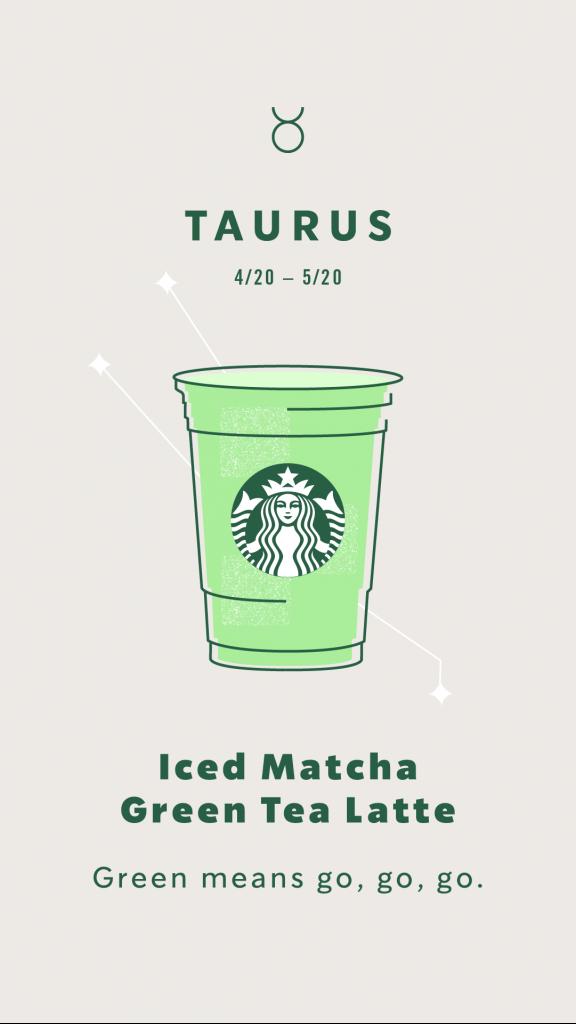 Starbucks Astrology Taurus