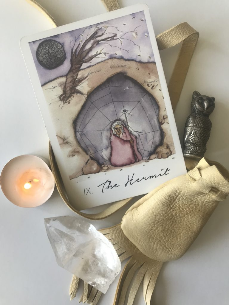 This Tarot Card Points to Time Alone